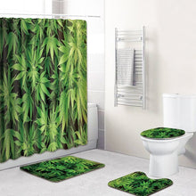 Load image into Gallery viewer, Bathroom Mats Shower Curtain