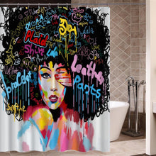 Load image into Gallery viewer, The African girl of hip hop bathroom design