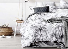 Load image into Gallery viewer, Modern Marble Printed Bedding