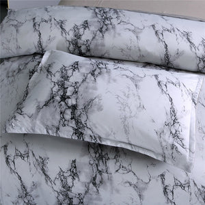Modern Marble Printed Bedding