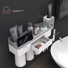 Load image into Gallery viewer, Bathroom accessories set storage rack