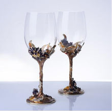 Load image into Gallery viewer, Crystal Wine Glass Set
