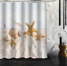 Load image into Gallery viewer, Curtain Beach Spa  Shower Curtain