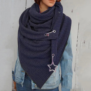Casual warm scarves and versatile scarves