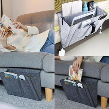 Load image into Gallery viewer, Hanging Caddy Couch Storage Organizer Bed Holder Pockets