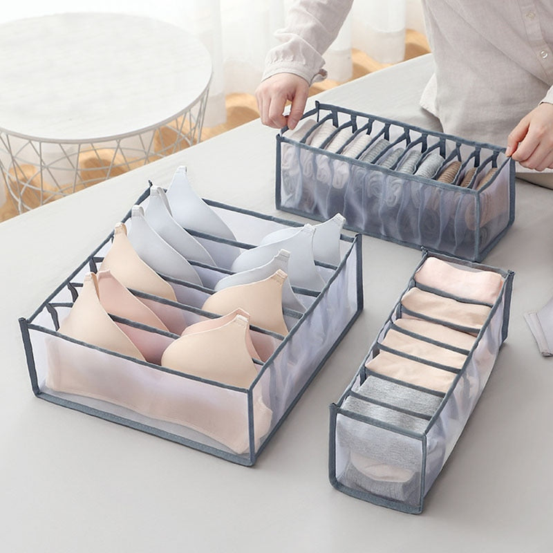 Storage boxes for socks and underwear