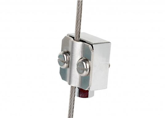 Backstay Antenna Clamp