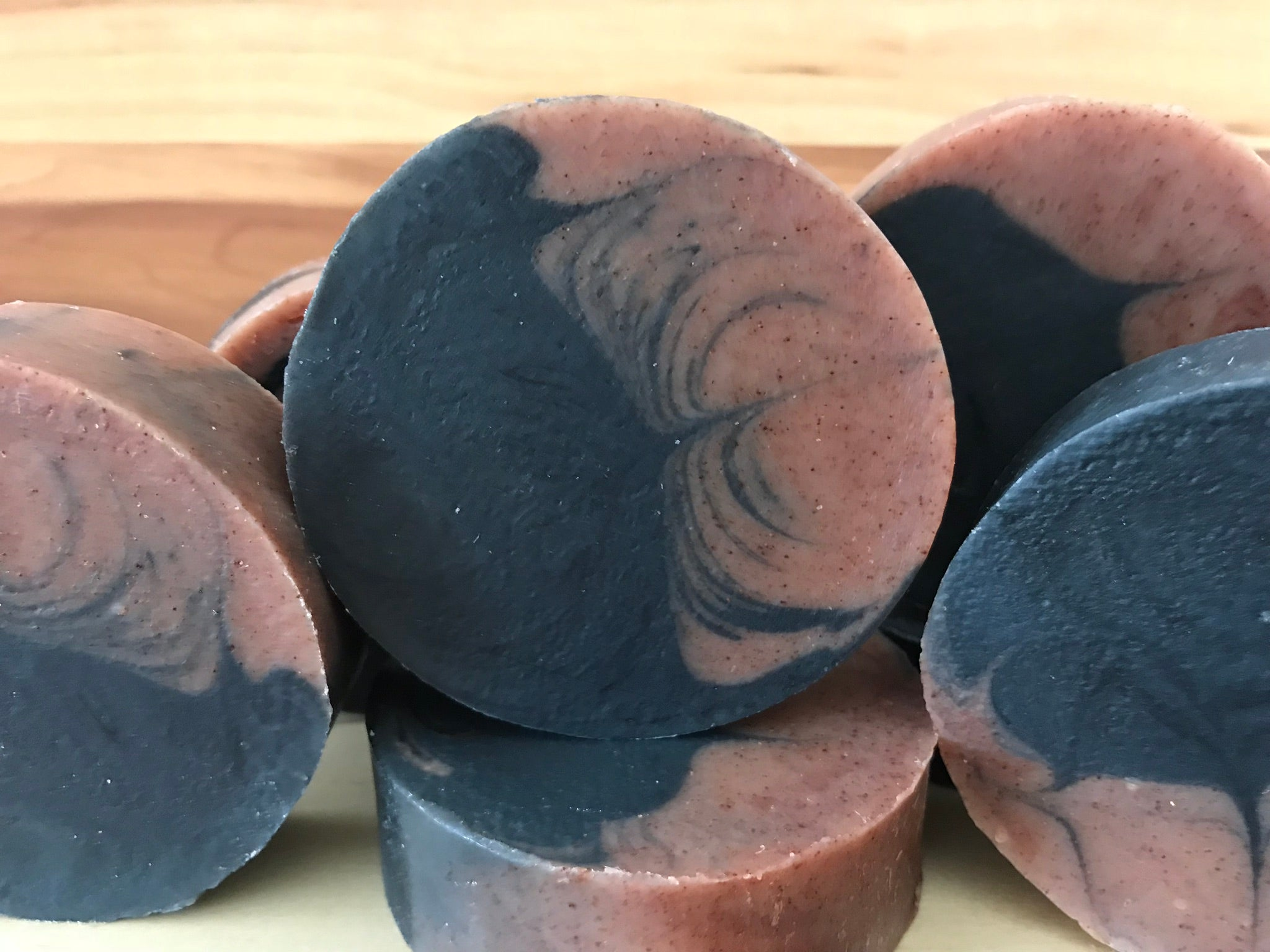 COCONUT OIL, CHARCOAL & CLAY LUXURY SOAP