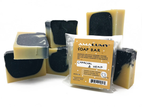 Charcoal & Hemp Soap - 3.5 oz