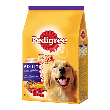 Pedigree Adult Lamb and Vegetables Dog FoodProduct Packagingby Mog and Marley