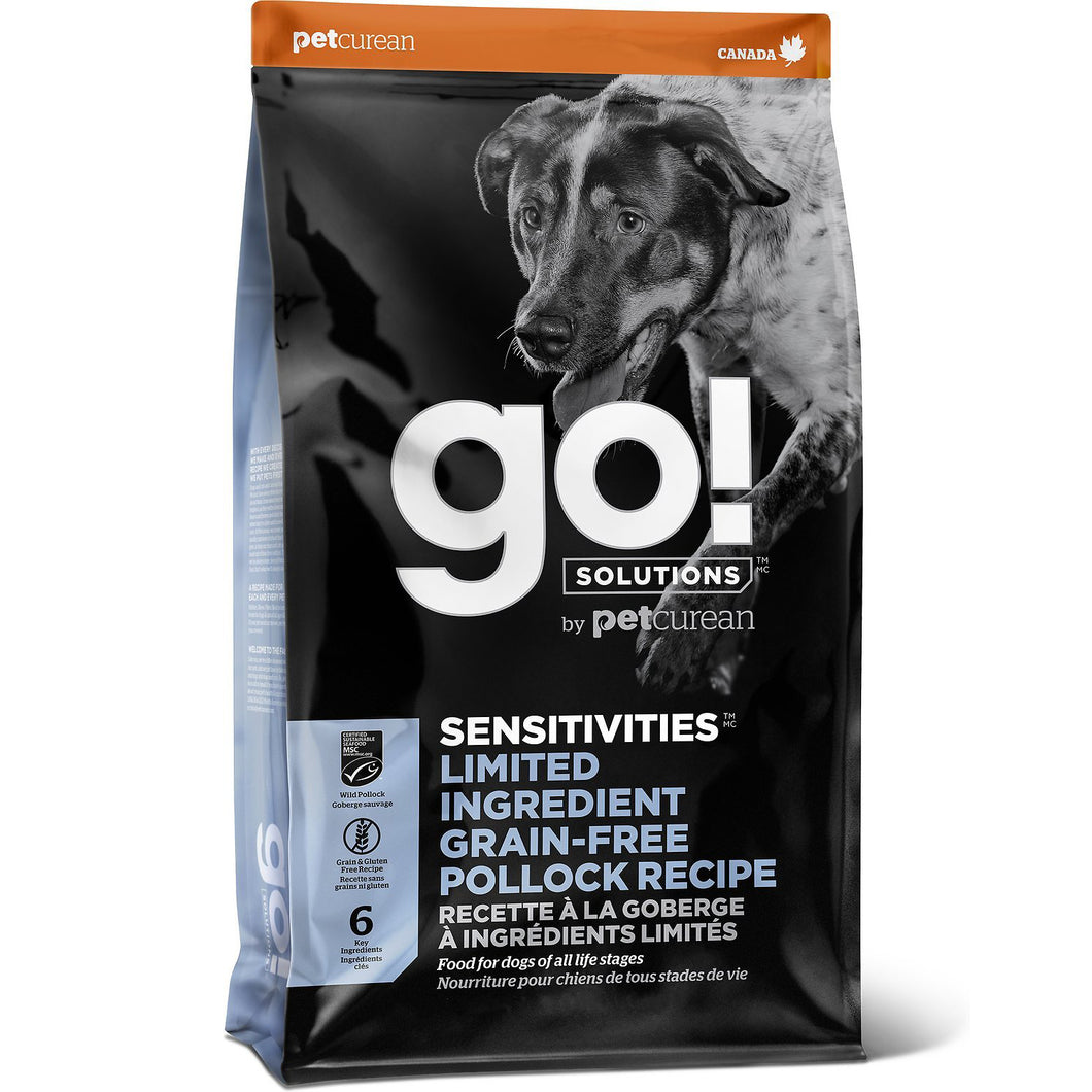 GO! Sensitivity + Shine Pollock Recipe All Life Stages Dry Dog Food