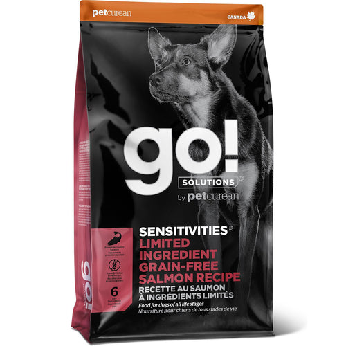 GO! Sensitivity + Shine Salmon Recipe All Life Stages Dry Dog Food