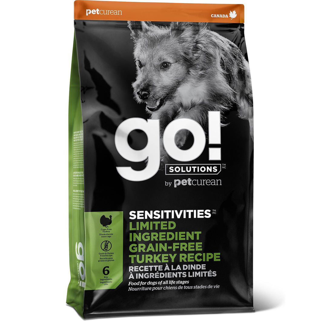 GO! Sensitivity + Shine Turkey Recipe All Life Stages Dry Dog Food