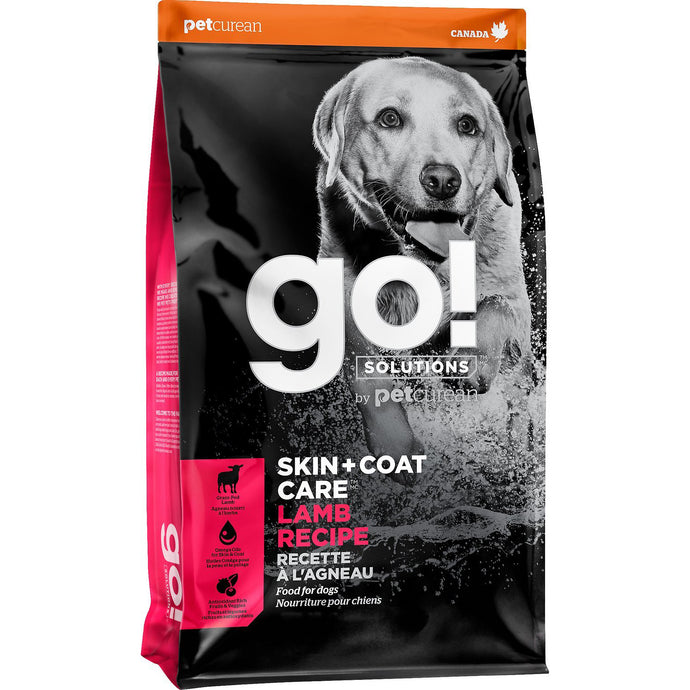 GO! Skin + Coat Lamb Recipe All Life Stages Dry Dog Food