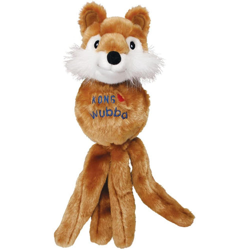 KONG Wubba Friend Dog Toy (Fox)