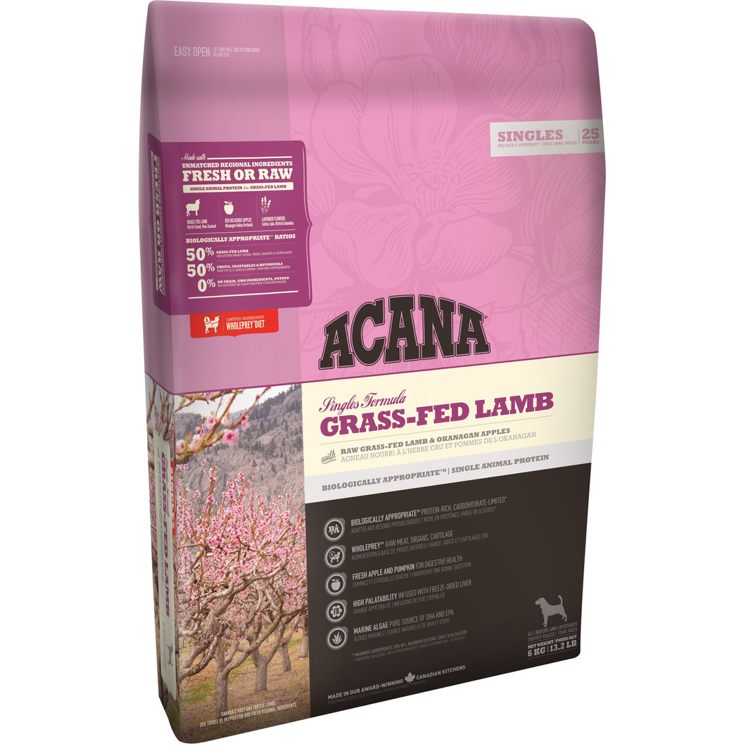 Acana Grass-Fed Lamb All Life Stages Dry Dog Food