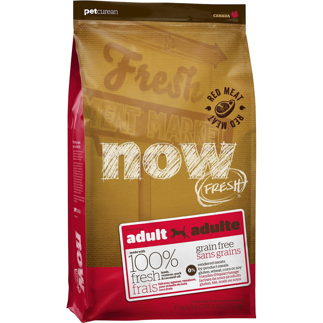 Now Fresh Red Meat Recipe Adult Dog Dry Dog Food