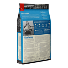 Load image into Gallery viewer, Orijen Original All Life Stages Dry Dog Food Back Packaging