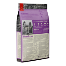 Load image into Gallery viewer, Orijen Puppy Large Dry Dog Food Back Packaging