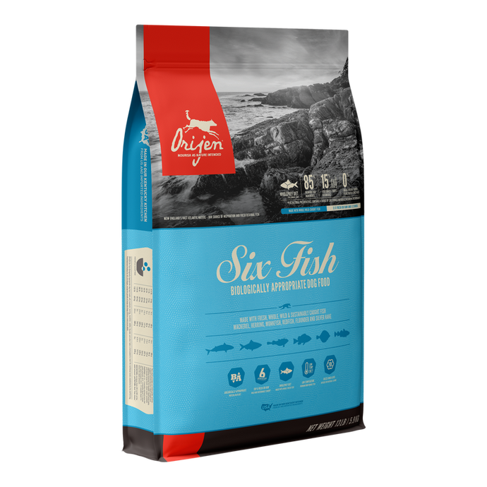 Orijen Six Fish All Life Stages Dry Dog Food