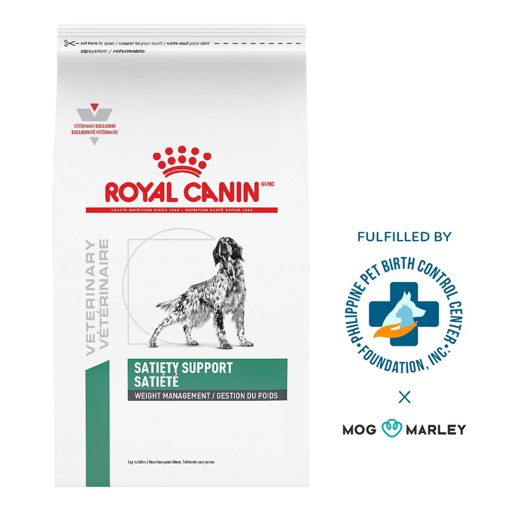 Royal Canin Veterinary Diet Dry - Satiety Dog Dry Dog Food