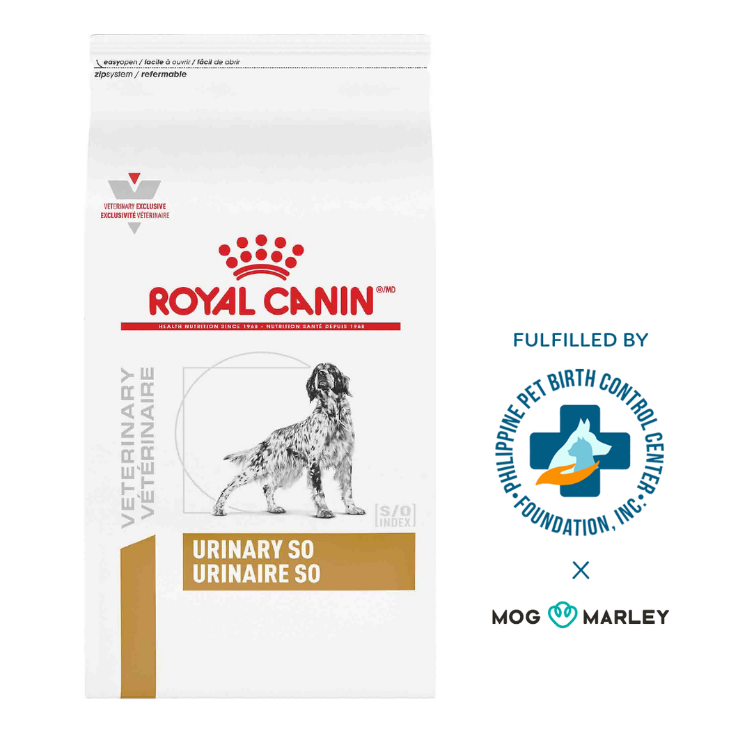 Royal Canin Veterinary Diet Dry - Urinary S/O Canine