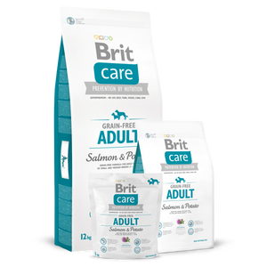 Brit Care Grain-Free Adult Salmon & Potato Dry Dog Food