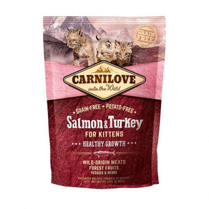 Carnilove Salmon & Turkey for Kittens Dry Cat Food 400g
