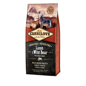 Carnilove Lamb and Wild Boar for Adult Dog Dry Dog Food