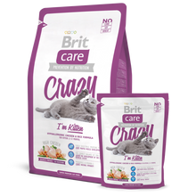 Load image into Gallery viewer, Brit Care Crazy I'm Kitten Dry Cat Food