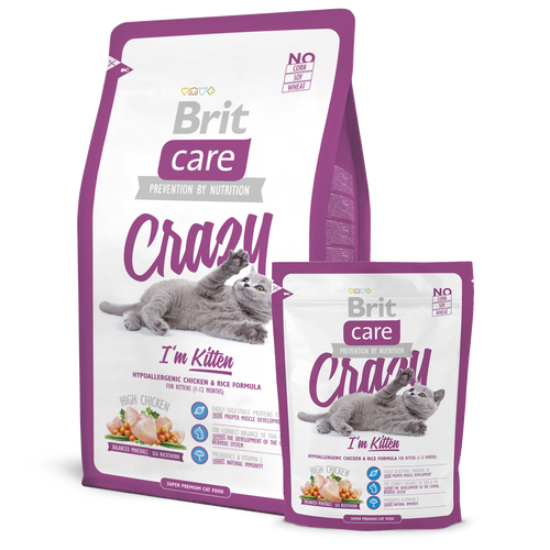 Brit Care Crazy I'm Kitten Dry Cat Food