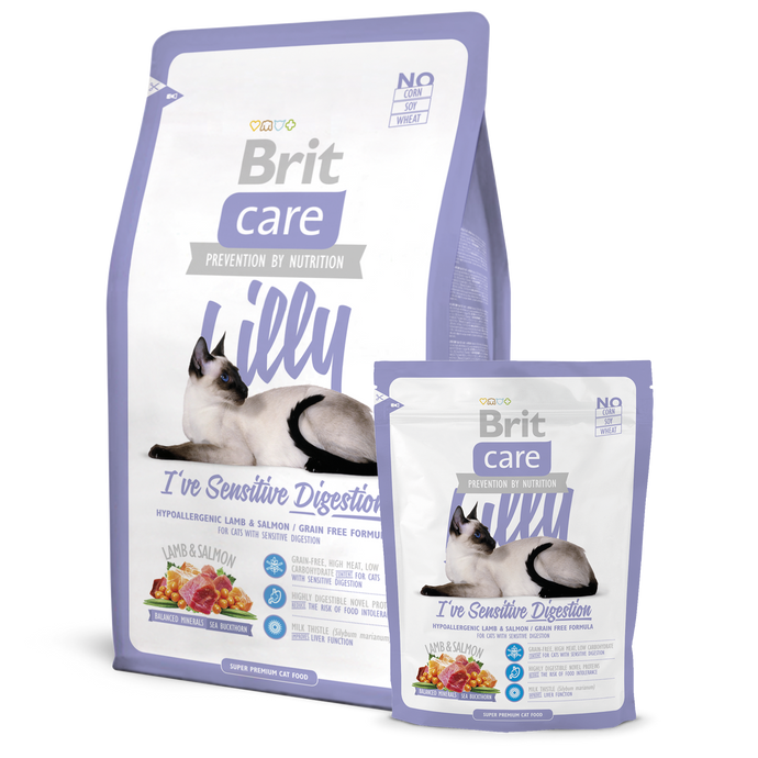 Brit Care Lilly Sensitive Digestion Dry Cat Food