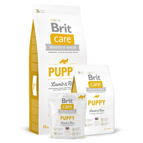 Brit Care Puppy Lamb and Rice Dry Dog Food
