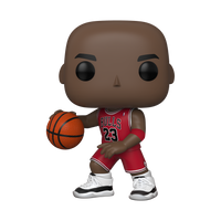 "Funko Pop NBA: Bulls 10"" Michael Jordan Red Jersey 75"