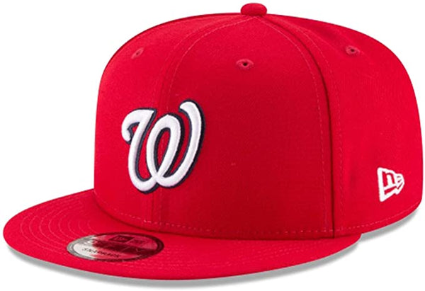 New Era WNTD Washington Nationals Basic 9Fifty Snapback Red