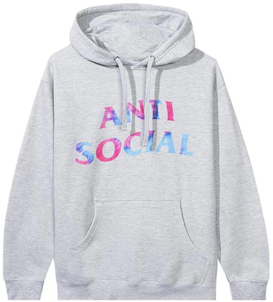 Anti Social Social Club Funky Forest Hoodie Grey