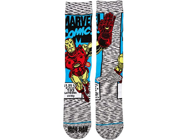 Stance Iron Man Comic Socks Large