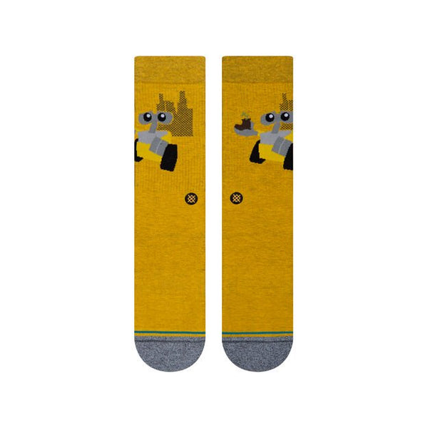 Stance Wall E Orange Socks Small