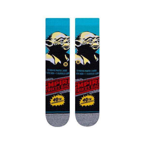Stance Yoda 40th Blue Socks Large