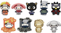 Naruto Shippuden X Hello Kitty and Friends 3D Blind Bag Key Rings