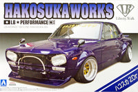 Aoshima LB Works Skyline Hakosuka 2 dr 1/24 Plastic Model Kit