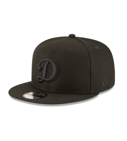 New Era Los Angeles Dodgers Blackout 9Fifty Snapback