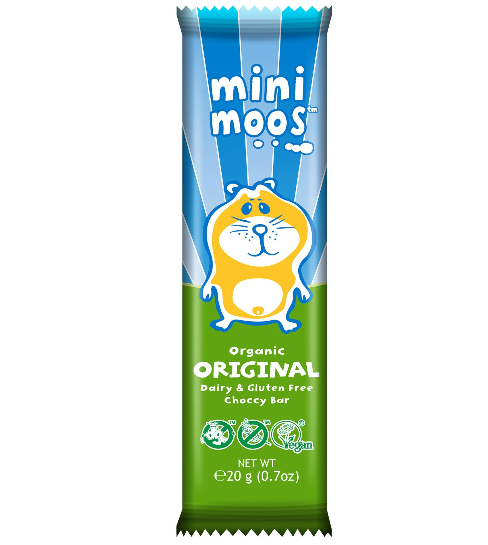 Moo Free Mini Moos Organic Original Bar