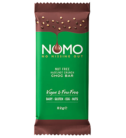 NOMO HAZELNOT CRUNCH CHOCOLATE BAR 85g
