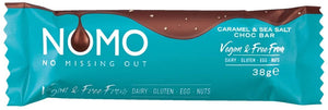 NOMO CARAMEL & SEA SALT CHOCOLATE BAR