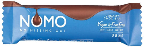 NOMO CREAMY CHOC CHOCOLATE BAR