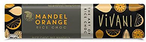 Vivani Organic Almond Orange Rice bars 35g