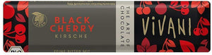 Vivani Organic Chocolate Black Cherry bars 35g