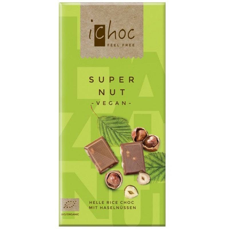 iChoc Super Nut Milk Chocolate 80g