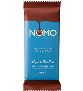 NOMO CREAMY CHOC CHOCOLATE BAR 85g